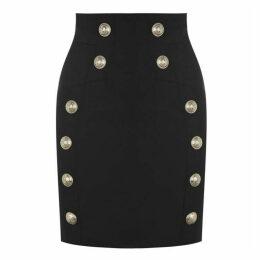 Balmain 12 Button Skirt