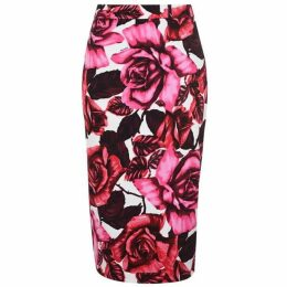 Prada Roses Skirt