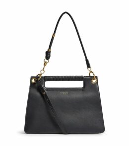 Small Leather Whip Cross Body Bag