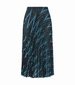 Zig Zag Pleated Skirt