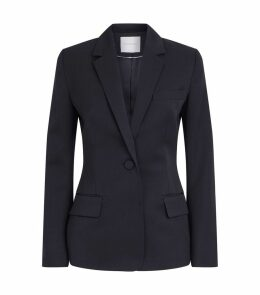 Lesia One-Button Blazer