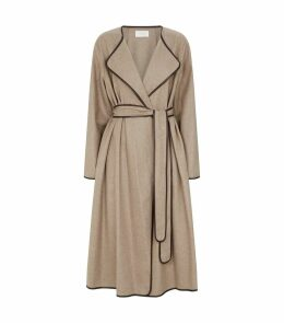 Helga Belted Cashmere Coat