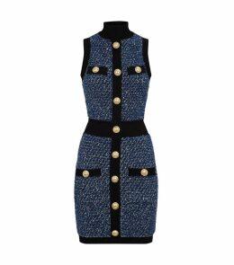 Tweed Sequin Dress