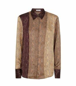 Snakeskin Print Yvonet Shirt