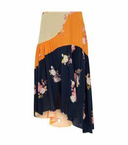 Floral Lilja Skirt