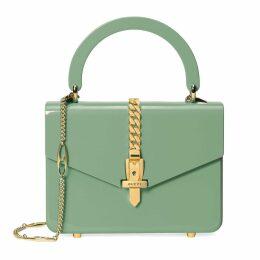 Sylvie 1969 Plexiglas mini top handle bag