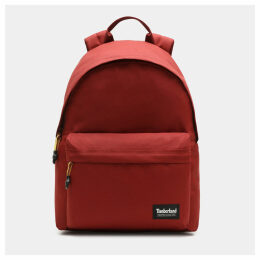 Timberland Crofton Backpack In Red Red Unisex, Size ONE