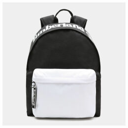 Timberland Sport Lifestyle Colour Block Backpack In Black Black Unisex, Size ONE