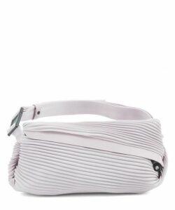 Bias Pleats Waist Bag