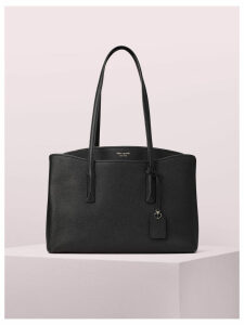 Margaux Large Work Tote - Black - One Size