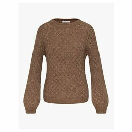 Gerard Darel Alpaca Jumper, Brown