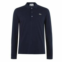 Lacoste Fit Long Sleeved Polo
