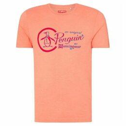 Penguin Outline Combo T Shirt