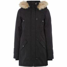 Vero Moda Excursion Longline Faux Fur Hooded Parka