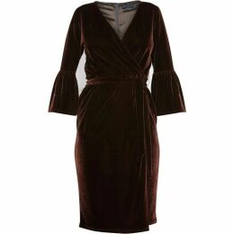 Helen McAlinden Scarlett Brown Dress