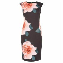 Tahari Floral print dress