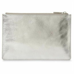Whistles Metallic Small Clutch