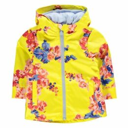 Joules Girl's Rain Dance Floral Coat