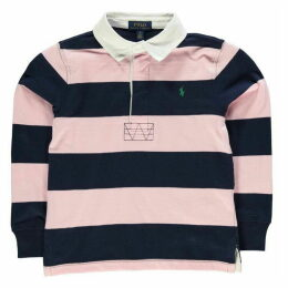 Polo Ralph Lauren Polo Boy's Small Performance Polo Rugby Shirt Str