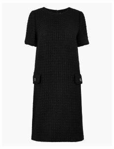 M&S Collection Tweed Mini Dress