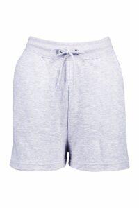 Womens Mix & Match Soft Loop Back Lounge Shorts - grey - 6, Grey