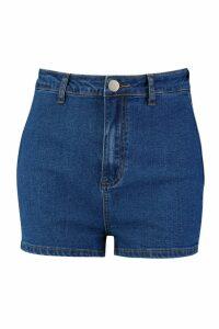 Womens Tall Disco Shorts - blue - 14, Blue