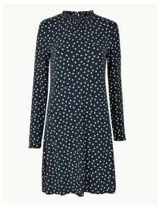 M&S Collection Polka Dot Jersey Swing Dress