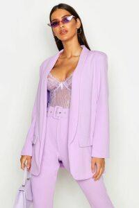 Womens Tailored Blazer - purple - 16, Purple