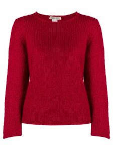 Comme Des Garçons Pre-Owned '1990s crew neck sweater - Red