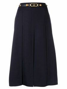 Louis Feraud Pre-Owned '1970s A-line skirt - Blue