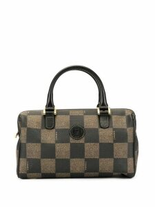 Fendi Pre-Owned check pattern tote - Brown