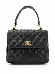 Chanel Pre-Owned 1992's Turn-lock handbag - Blue