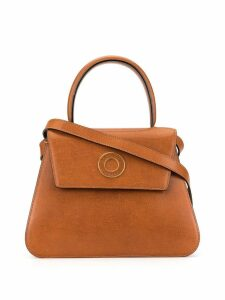 Céline Pre-Owned Circle Logo 2way bag - Brown