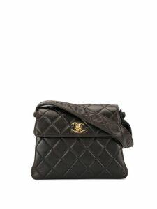 Chanel Pre-Owned 1997 turn-lock mini handbag - Black