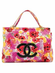 Chanel Pre-Owned 1997's Pain Print tote - Multicolour