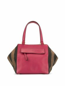 Fendi Pre-Owned Pequin trapeze tote - Pink