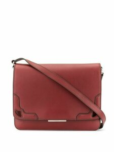 Cartier Pre-Owned logo crossbody bag - Red