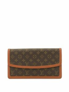 Louis Vuitton Pre-Owned Pochette Damme GM clutch - Brown