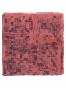 Hermès Pre-Owned Mosaique Au 24 sheer scarf - Purple