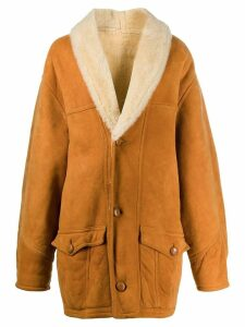 A.N.G.E.L.O. Vintage Cult 1980's shearling coat - Orange