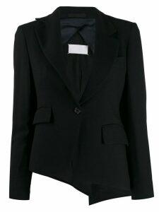 Maison Martin Margiela Pre-Owned 1990's asymmetric blazer - Black