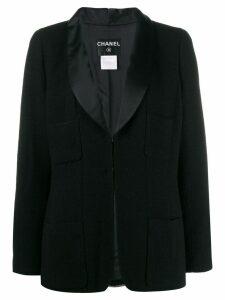 Chanel Pre-Owned 2006's boxy blazer - Black