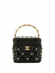 Chanel Pre-Owned Cosmetic Vanity handbag - Black