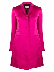 Romeo Gigli Pre-Owned 1990's midi straight coat - Pink