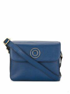 Céline Pre-Owned logo ring shoulder bag - Blue