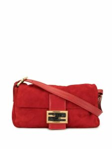 Fendi Pre-Owned Mamma Baguette shoulder bag - Red