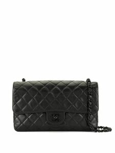 Chanel Pre-Owned diamond quilted chain shoulder bag - Black