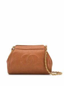 Chanel Pre-Owned CC logo shoulder bag - Brown