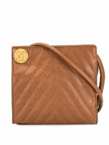 Chanel Pre-Owned quilted shoulder bag - Brown
