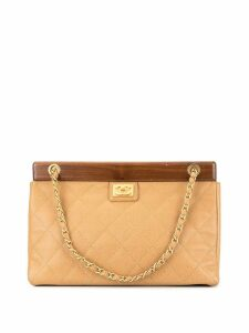 Chanel Pre-Owned CC logo chain handbag - Brown